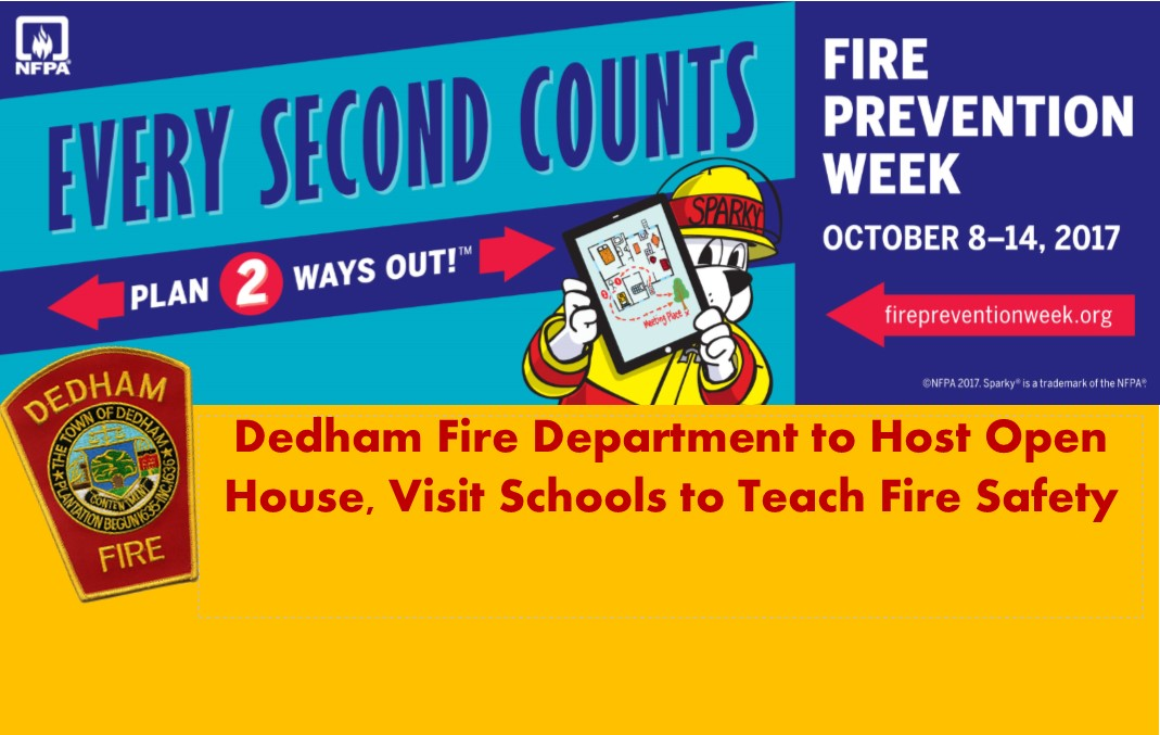 dedham fire safety week