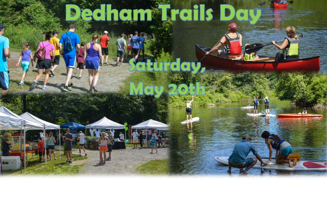 Dedham Trails Day May 20