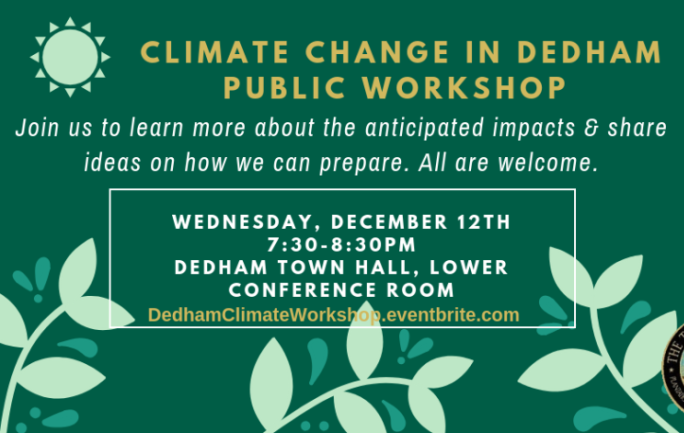Climate Change Workshop December 12